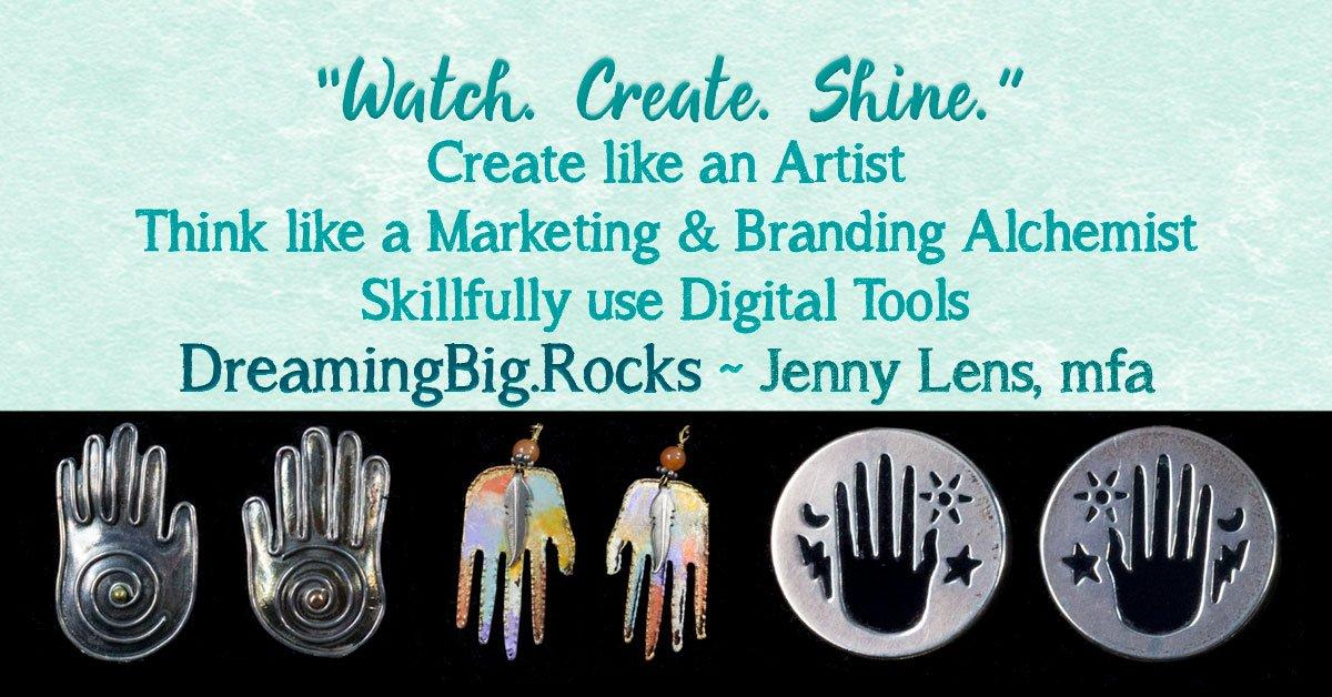 Dreaming Big Rocks! Think Like An Artist