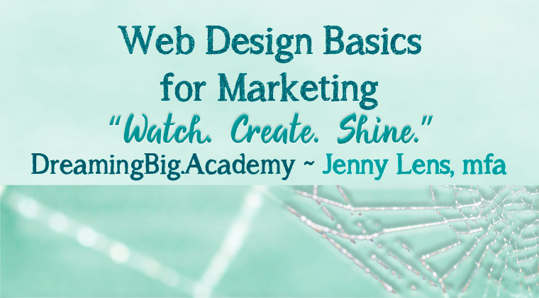 Web Design Basics for Marketing