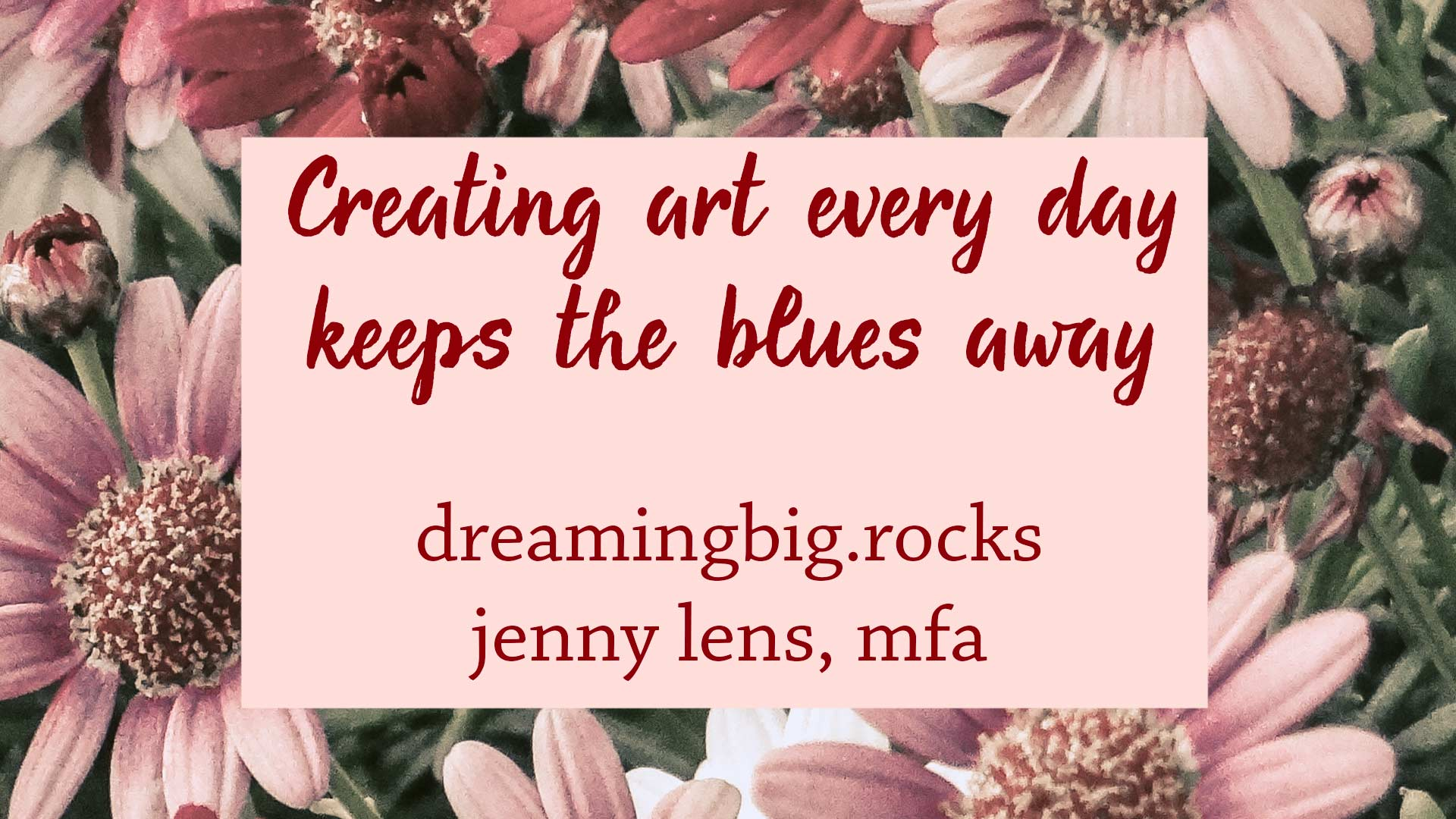 Read more about the article Creating Art Keeps the Blues Away