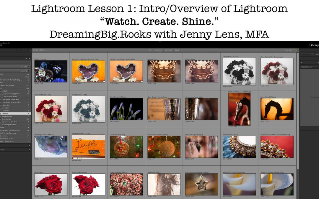 Lightroom Essentials for Branding, Social, Web, Marketing, Products, Photos and Fine Art