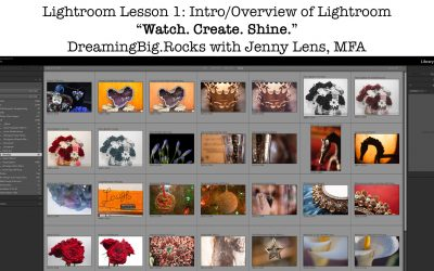 Lightroom Essentials Info for Branding, Social, Web, Marketing, Products, Photos and Fine Art