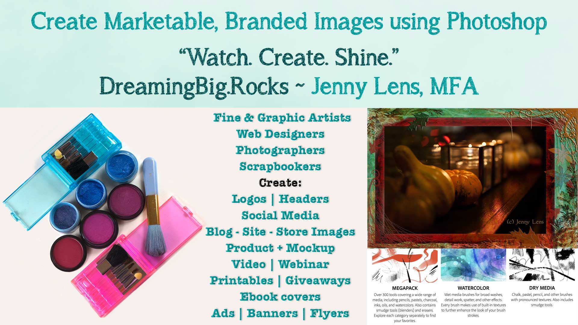 Create Marketable, Branded Images using Photoshop