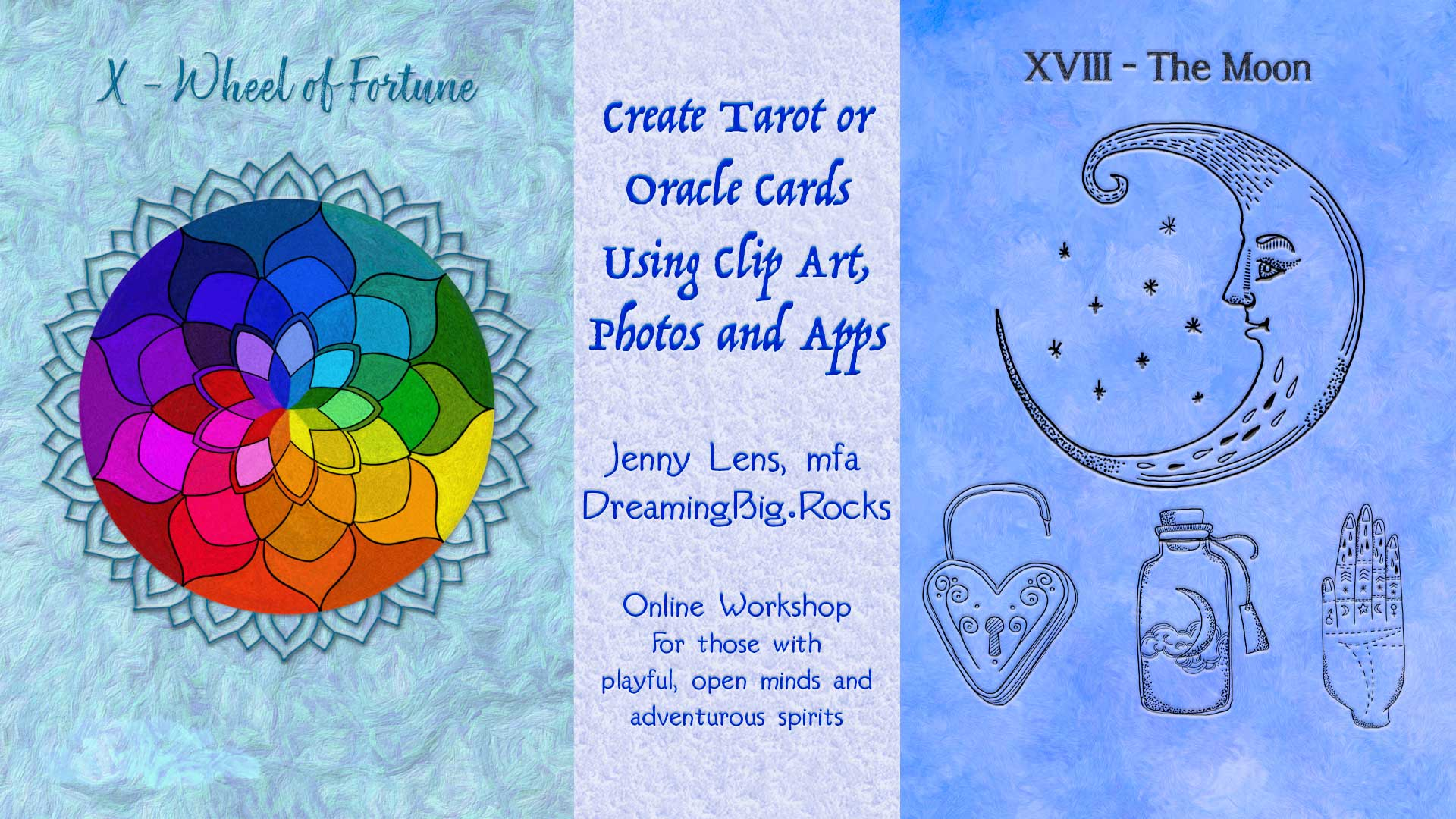 Create Tarot and Oracle Cards Using Clip Art and Photos