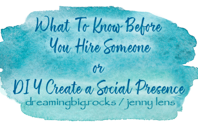 What To Know Before You Hire or Create a Social Presence
