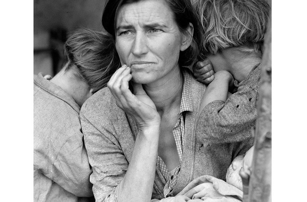 Migrant Mother by Dorothea Lange was Full-Blooded Cherokee